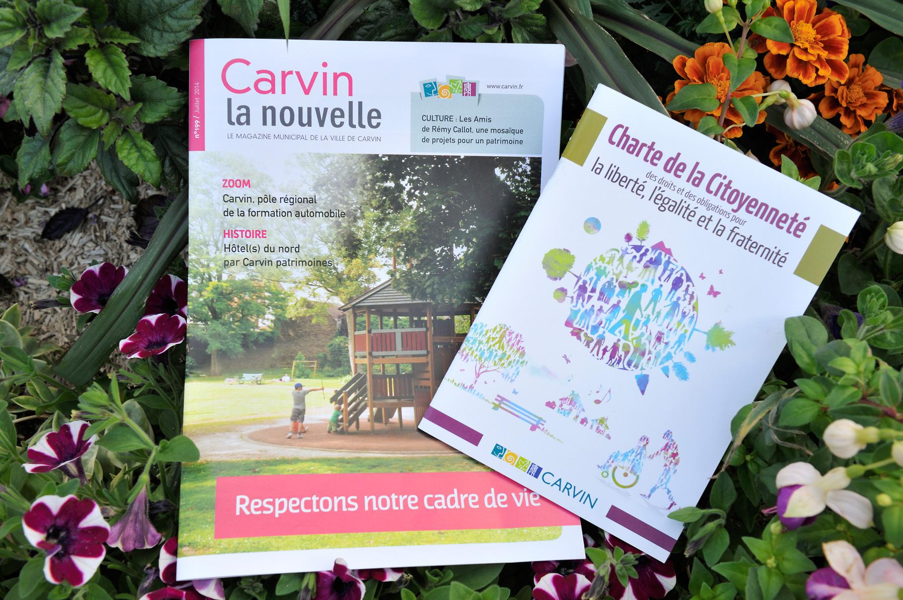 Documents de sensibilisation réalisés par la ville de Carvin par Richard Soberka