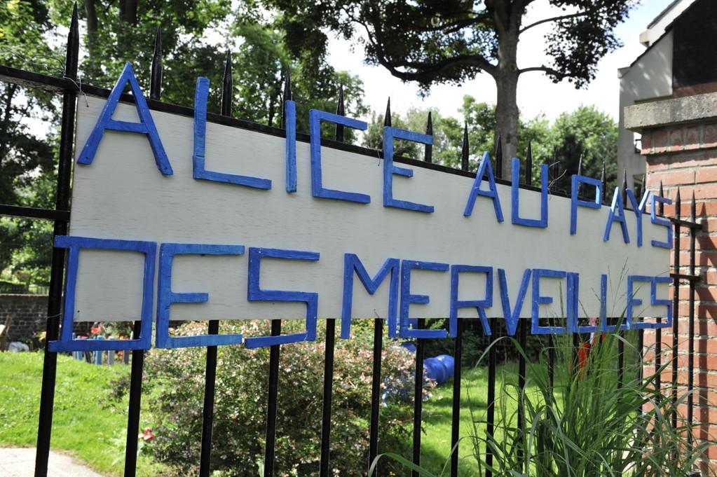 """Le parc """"Alice au Pays des Merveilles"""" par Richard Soberka"""