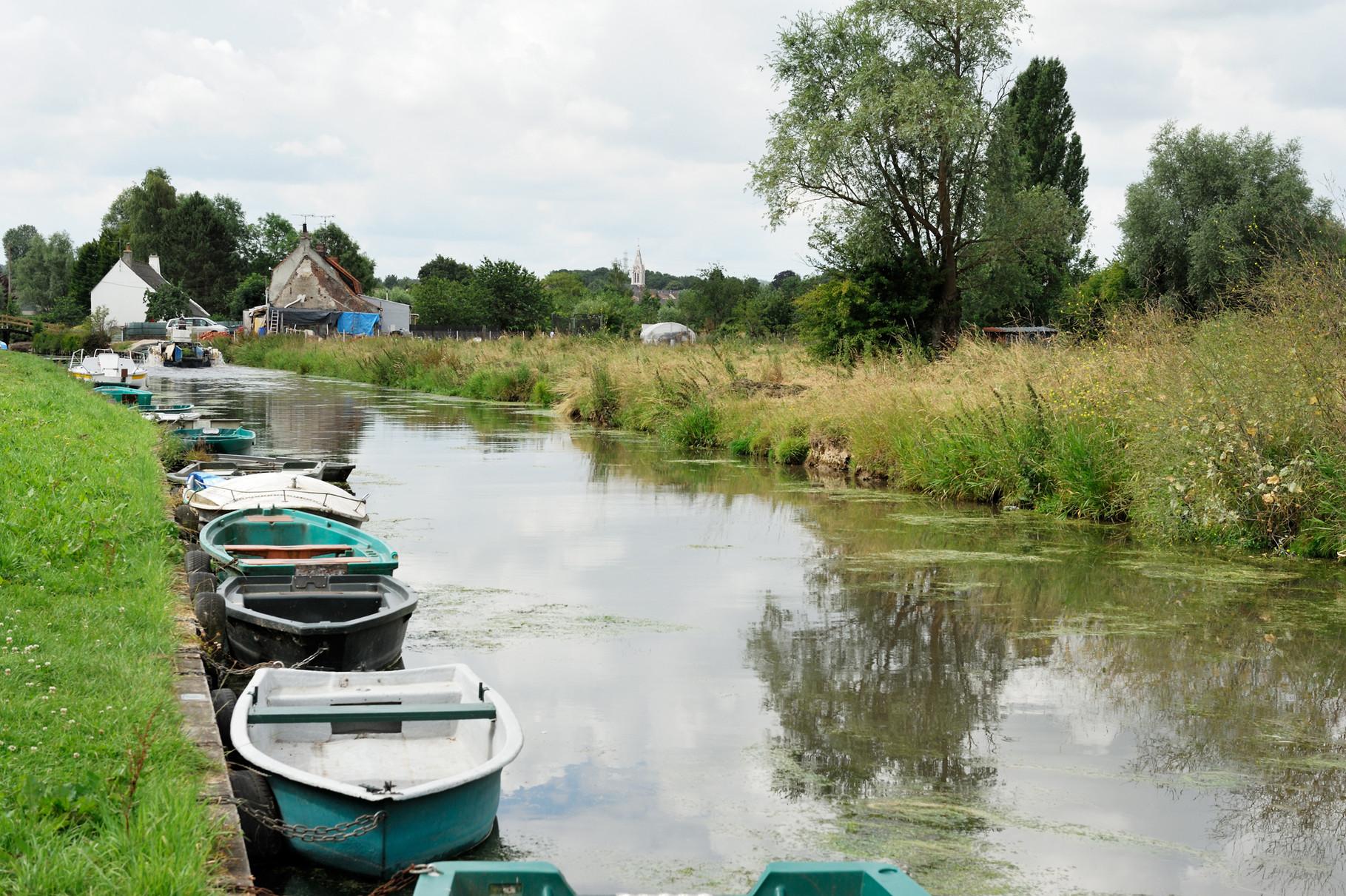 Saint-Martin-Laert, Marais Audomarois par Richard Soberka