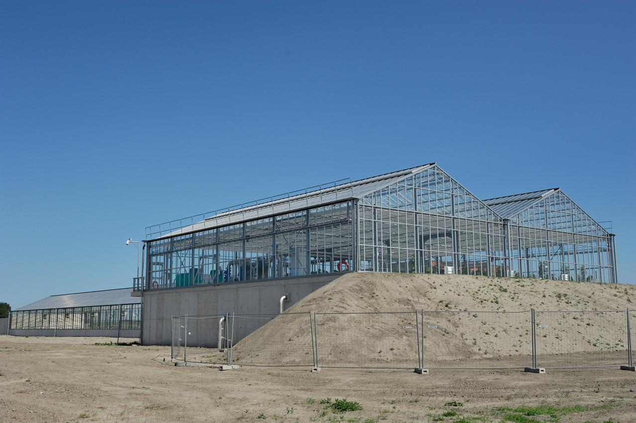 Station d'épuration de Oye-Plage par Richard Soberka