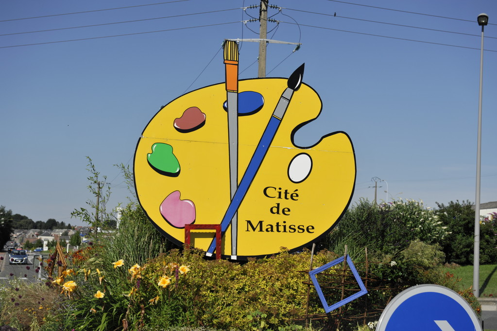 "Rond point ""Matisse"" par Richard Soberka"