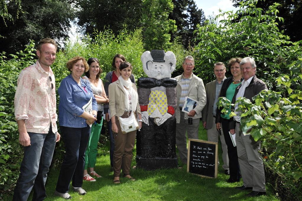 Le jury apprécie la compagnie de lapin blanc ! - Richard Soberka