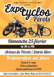 Bourse expo cyclo moto le 25 fevrier 2018 aux arènes de Perols 34