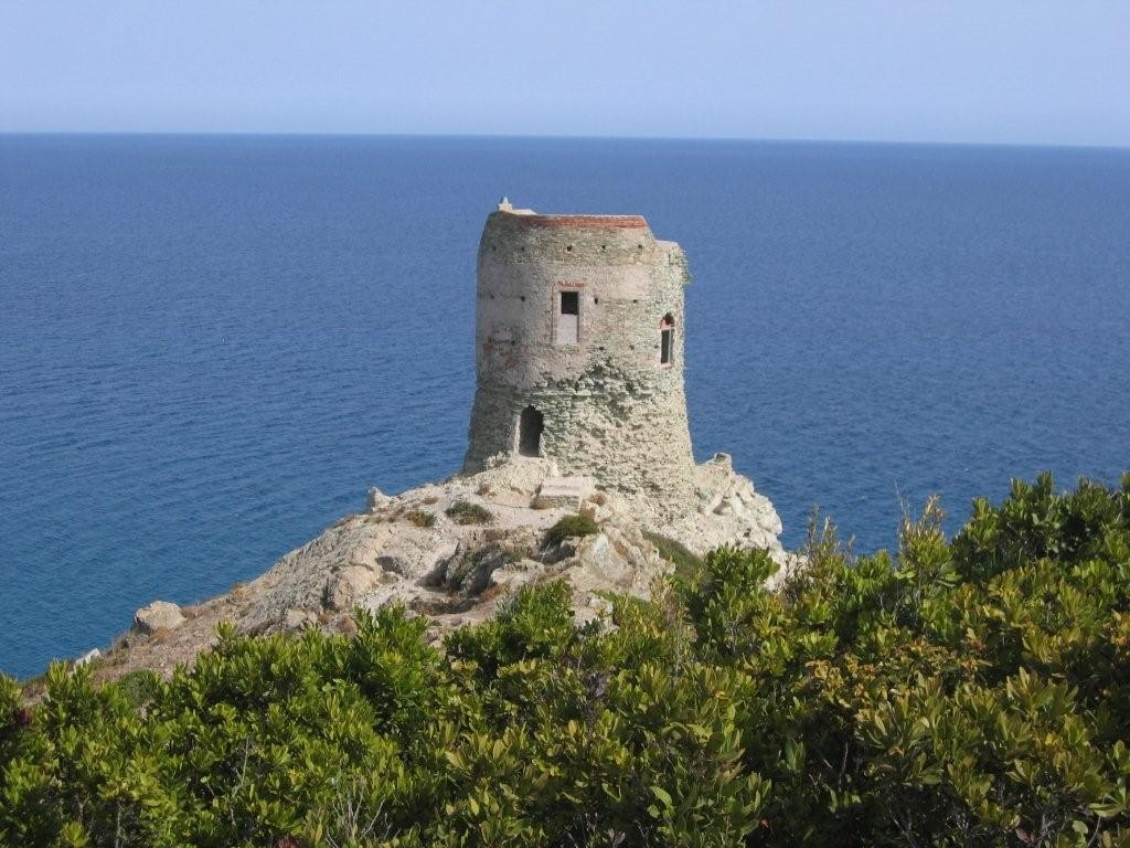 Wachturm am Cap Corse