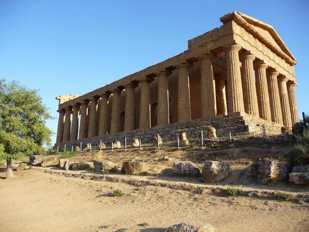 Concordia-Tempel in Agrigento