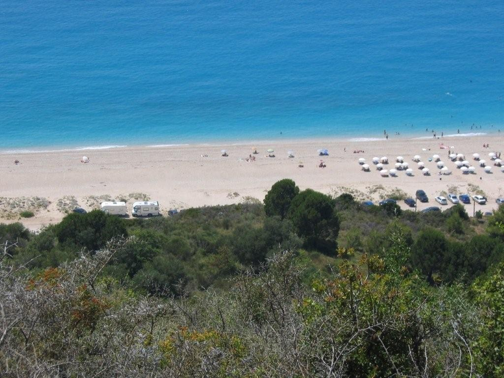 am Kathisma-Beach Lefkas