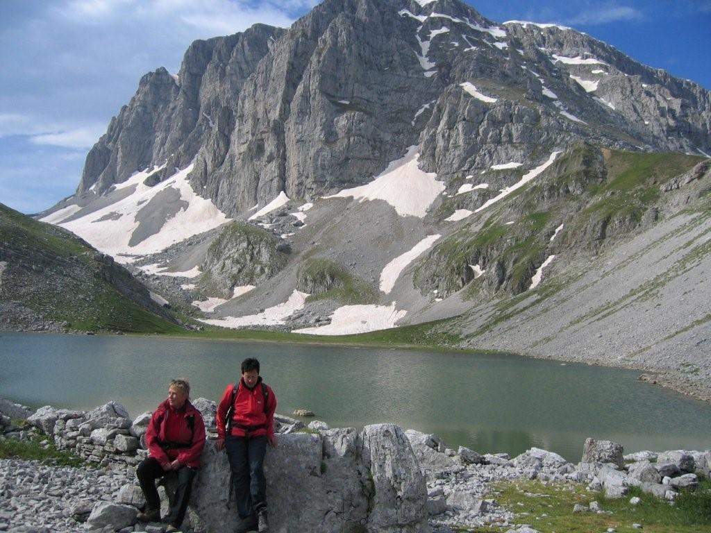 Alpenstimmung im Norden von Griechenland