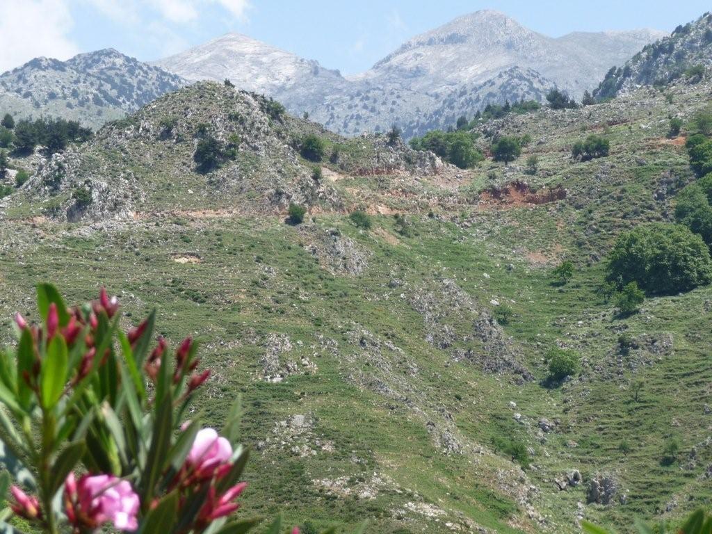 kretische Gebirgslandschaft