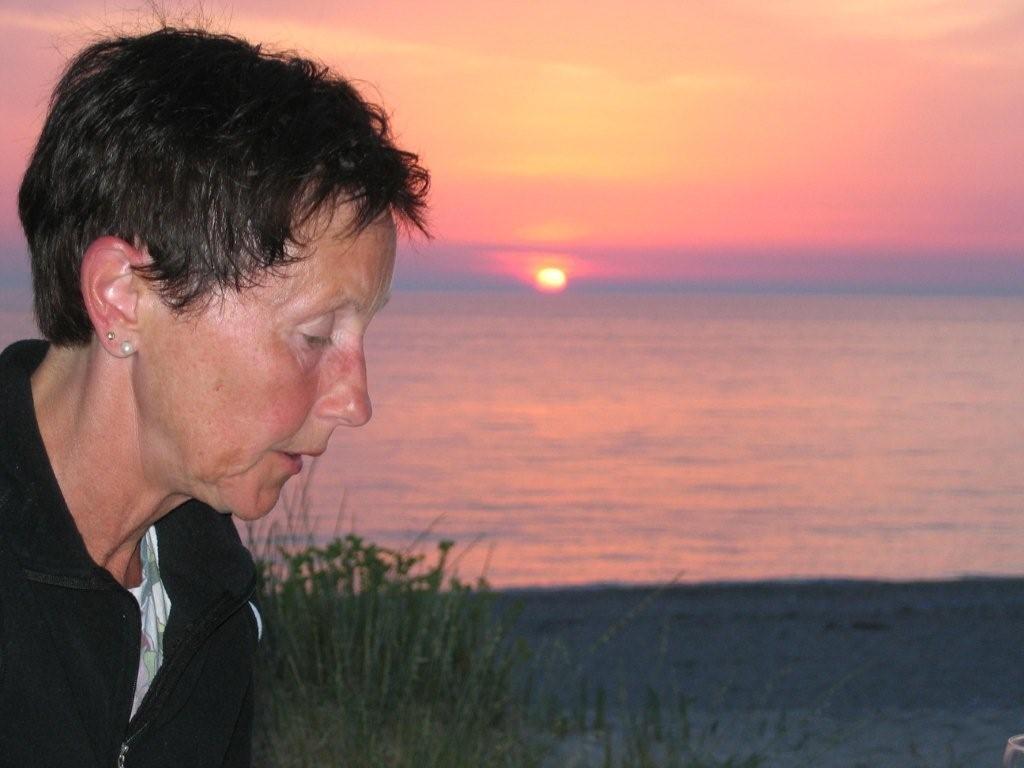 Sonnenuntergang am Kathisma-Beach