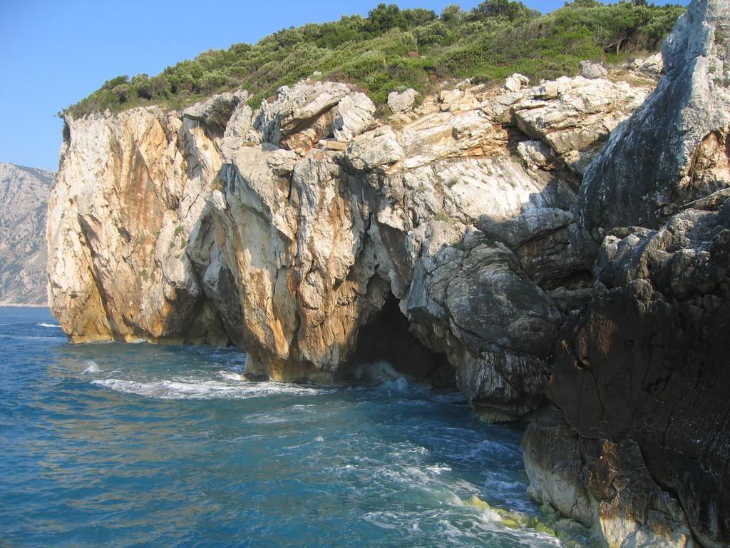 Felsenlandschaft bei Hiliadou