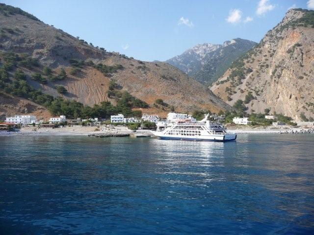 Blick auf Agia Roumeli