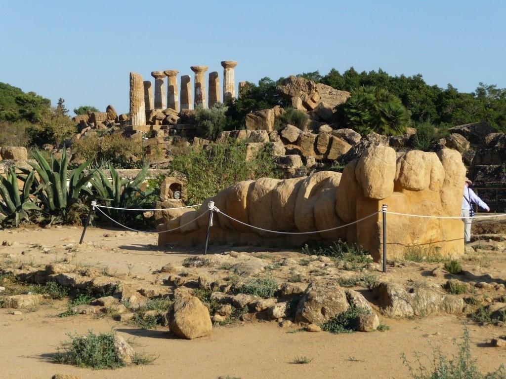 im Valle dei Templi bei Agrigento