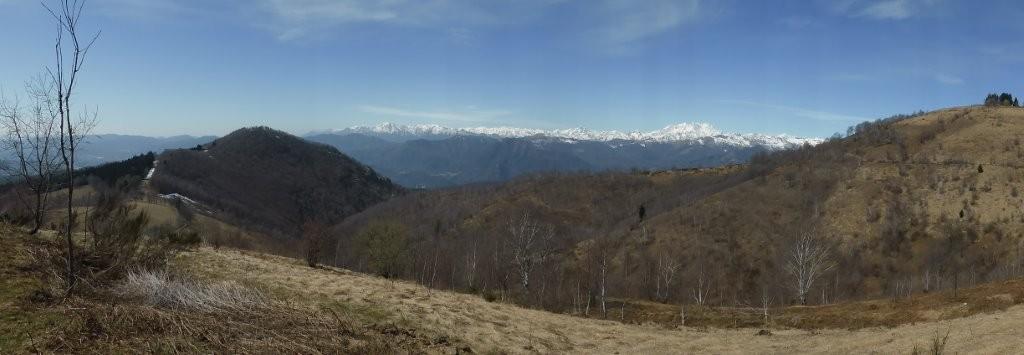 unterwegs zum Monte Mottarone