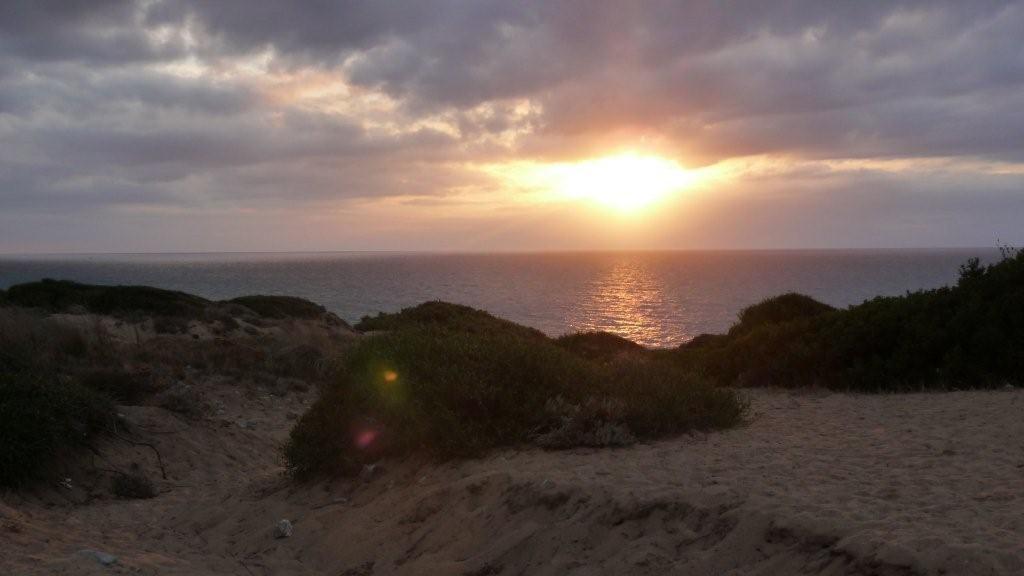 Sonnenuntergang an der Costa Verde