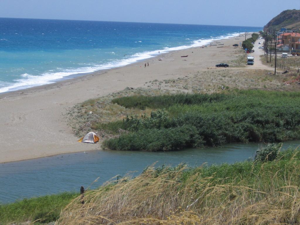 am Strand von Mouteri - Euboea