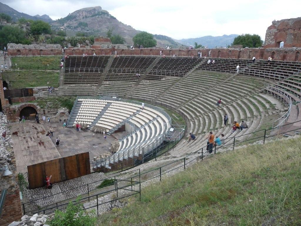 Taormina -Teatro Creco