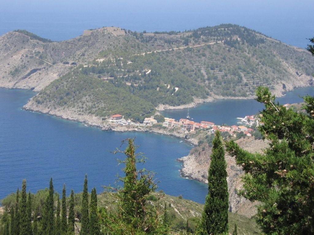 Blick auf Asos - Kefalonia