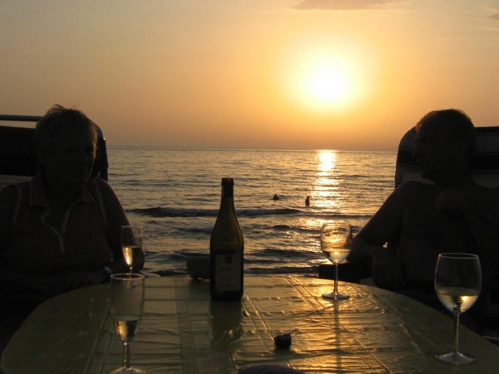 Sonnenuntergang bei Nakos Kilini - Pelopones