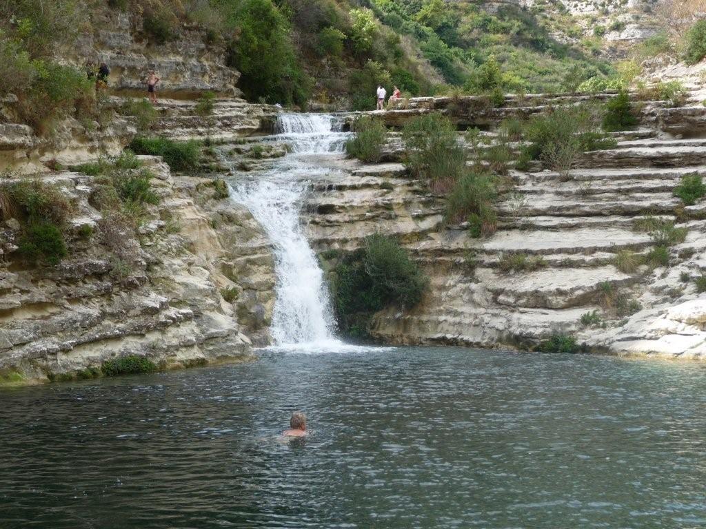 Badegumpen im Canyon