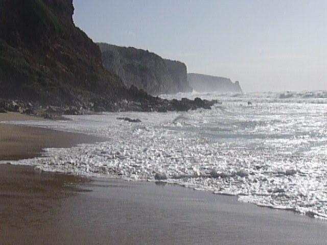 am Strand von San Nicola