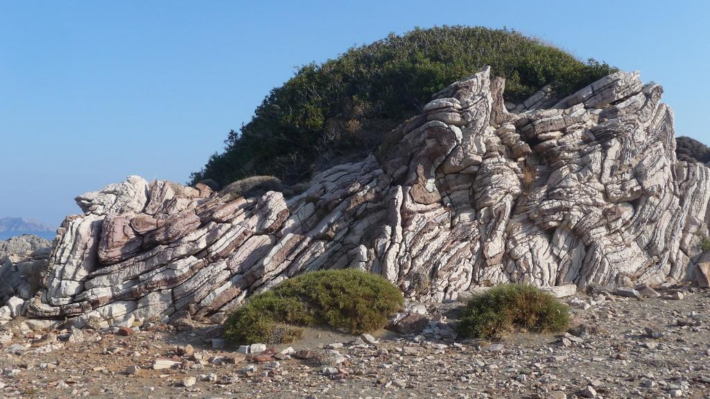 die Felsen von Agios Pavlos
