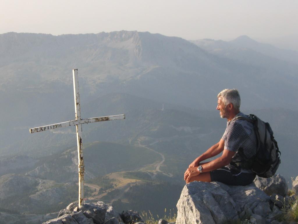 auf dem Dirfis - dem höchsten Berg auf Euboea