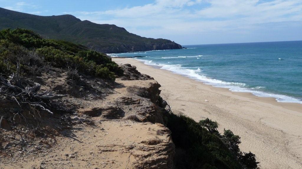 Strand von Scivu - Costa Verde