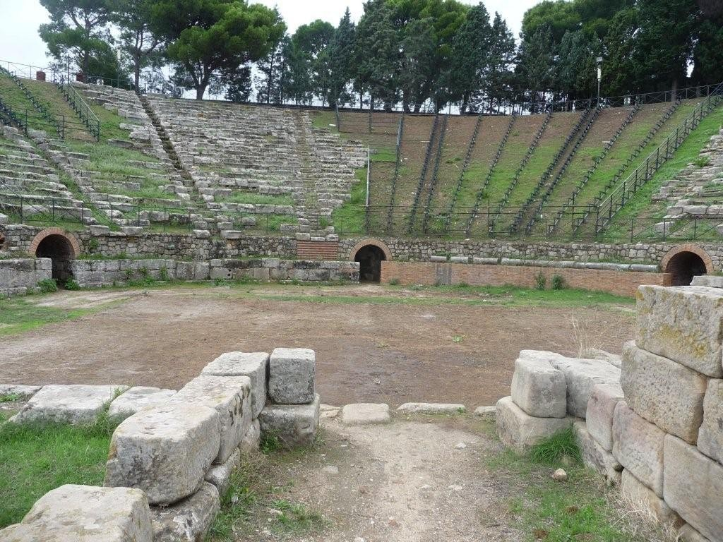 Theater der antiken Stadt Tindari