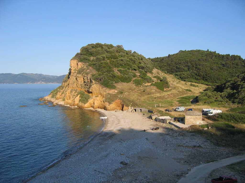 Stellplatz Theodokou-Beach - Pillion -