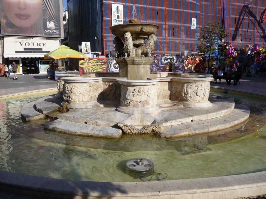 Löwenbrunnen von Heraklion