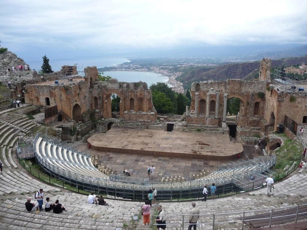 Teatro Creco -Taormina