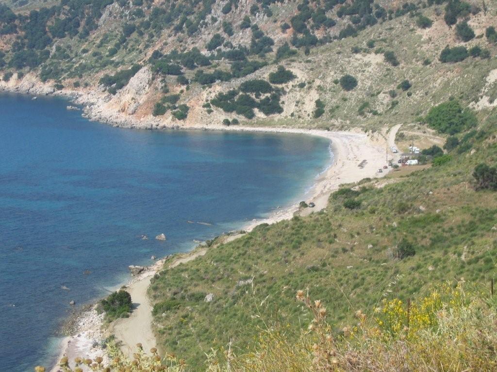 Stellplatz am Ormos Kiriakis - Kefalonia