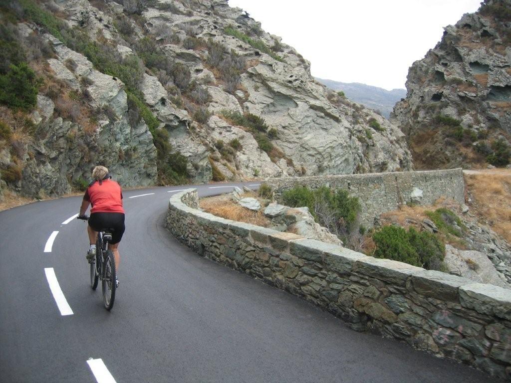 radeln auf Traumstraßen am Cap Corse