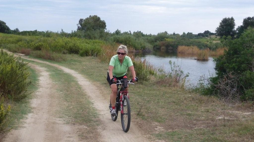 Fahrradtour vom Capo Camino zum Berchida-Strand