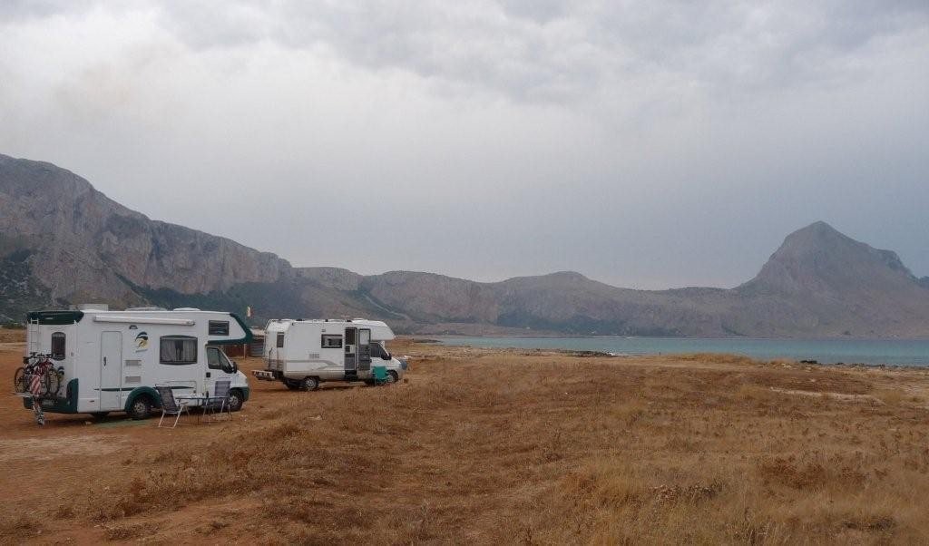 Free-Camping Nähe San Vito