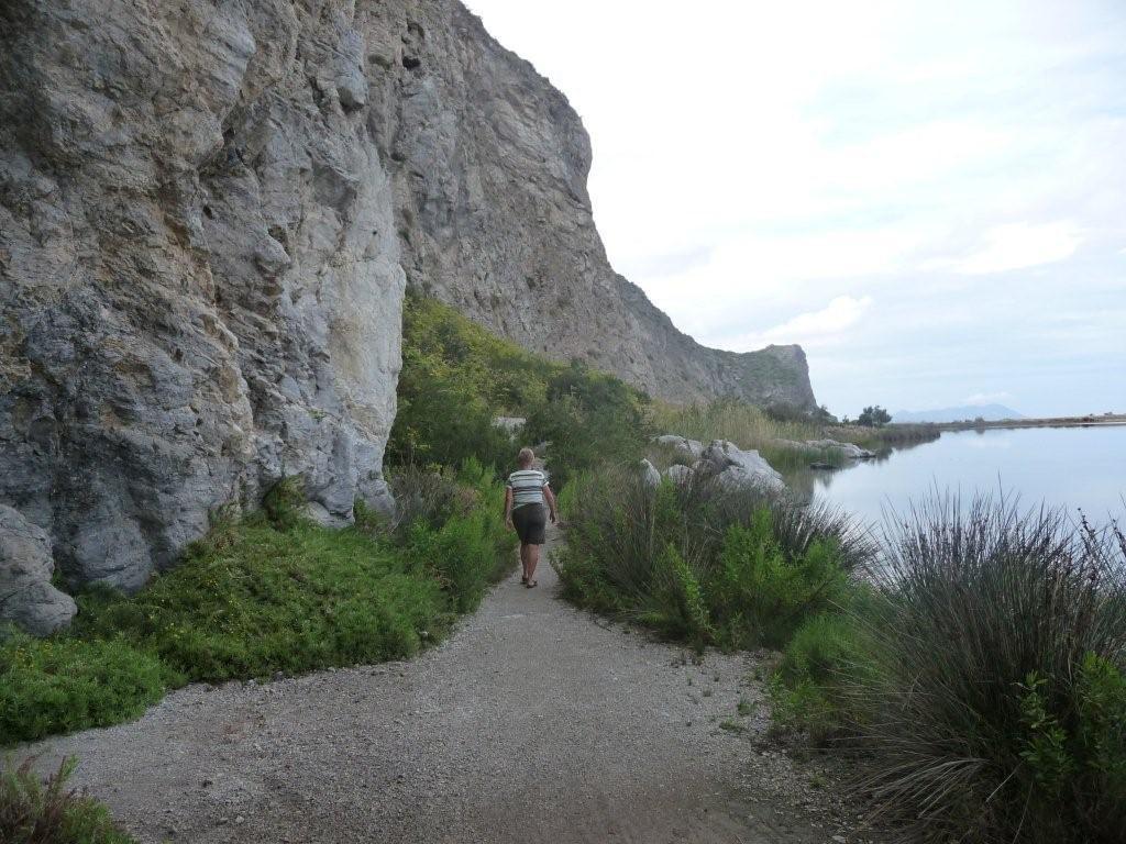 Spaziergang an der Steilküste unterhalb Tindari
