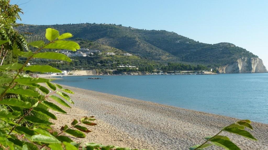 Strand vor unserem Camping