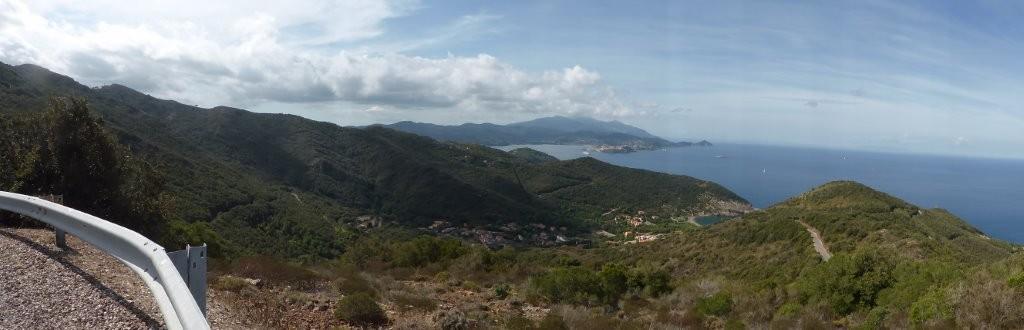 toller Ausblick auf Portoferraio - Tour 4 -