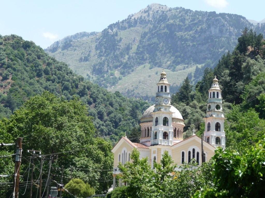 in den kretischen Bergen