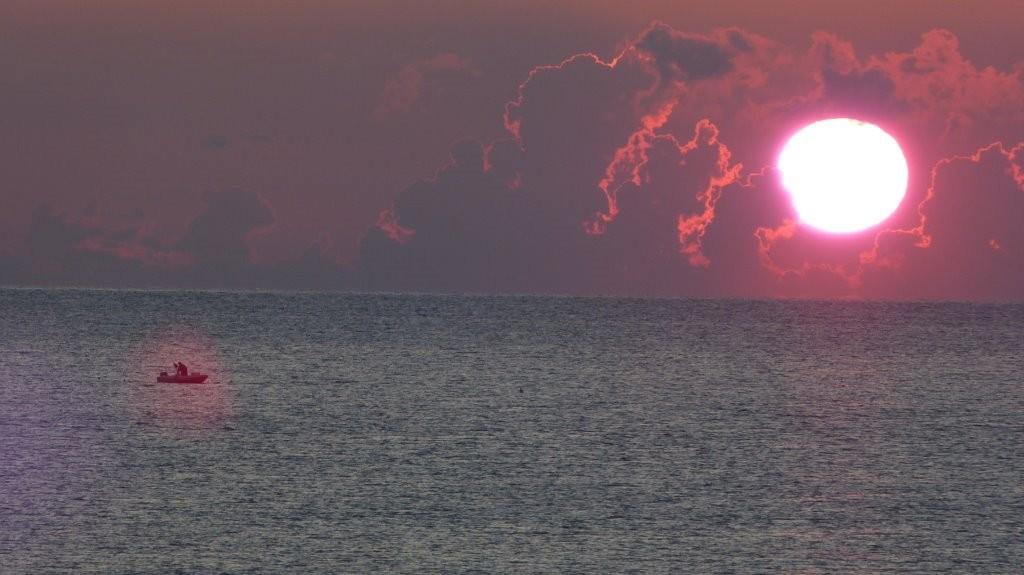 Sonnenaufgang am CP Mattinata