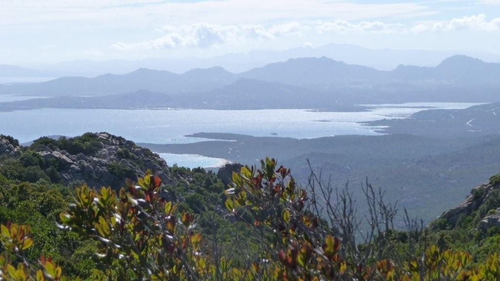 Blick vom Monte Moro auf die Costa Smeralda