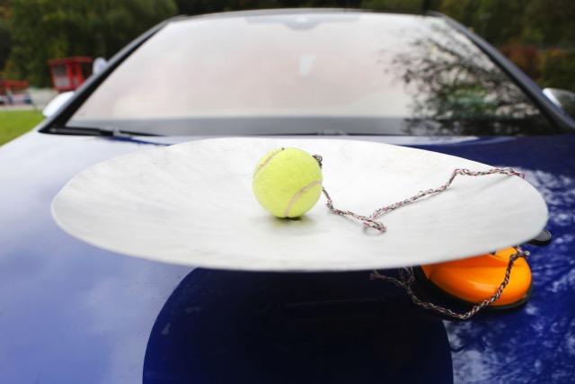 Obiettivo: non far fuoriuscire la pallina dalla scodella
