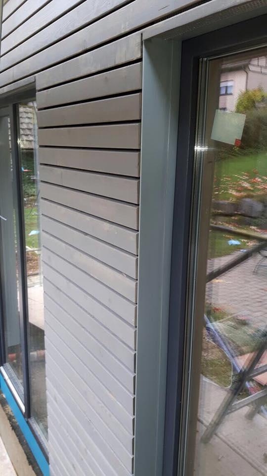Holzfassaden Rhombus Trendliner Boden Deckelschalung Moco