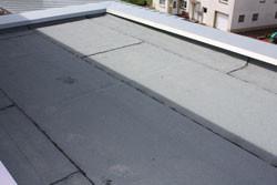 Dacheindichtung mit Bitumenschweißbahn