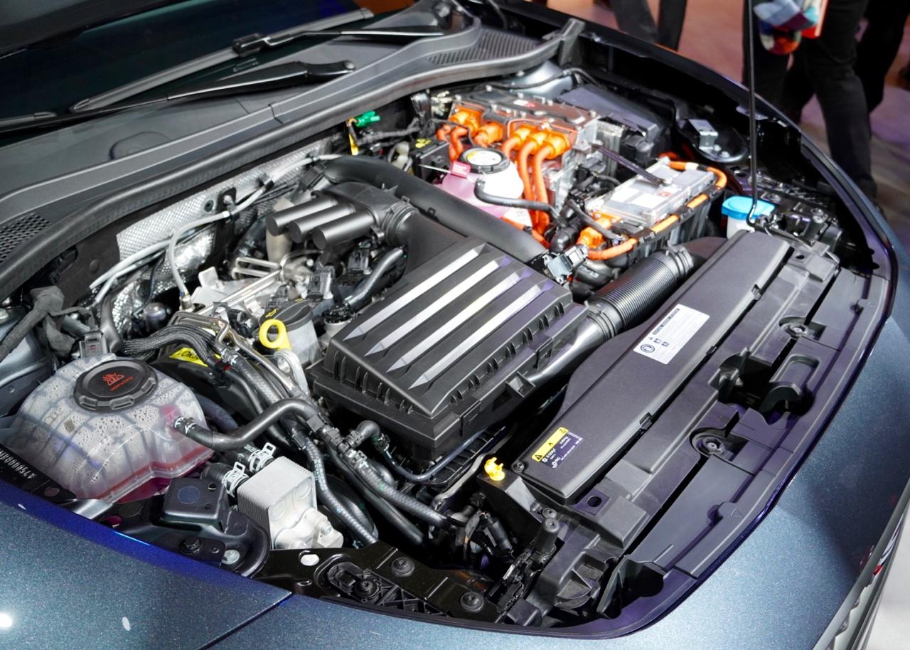 TSI-Motoren mit Direkteinspritzung und Turboaufladung. Leistung zwischen 90 PS (66 kW) und 190 PS (140 kW). Auch ein 2.0-Liter-Dieselmotor und eine CNG-Gas-Variante sind erhältlich.