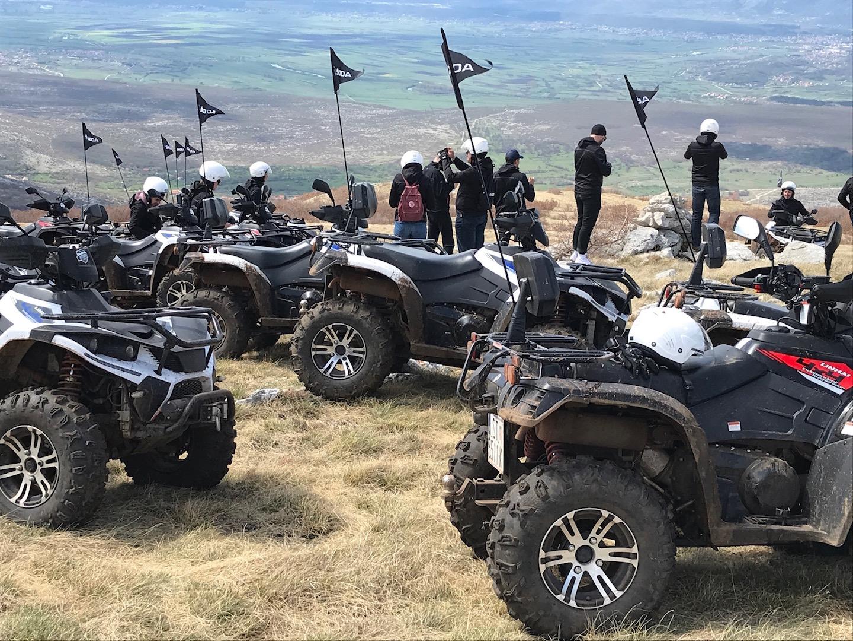 Squad-Ausflug in die Berge Kroatiens.