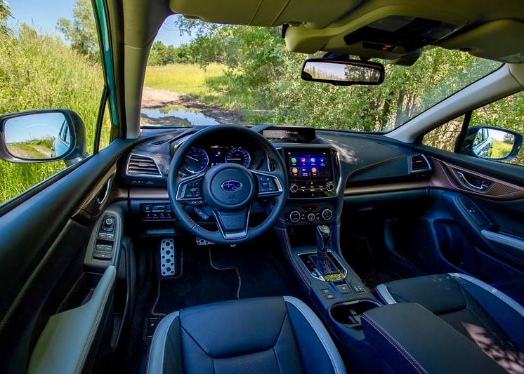 Die Cockpits in den Mildhybrid-Modellen XV und Forester setzen auf Altbewährtes, ohne sich der Moderne zu entziehen.
