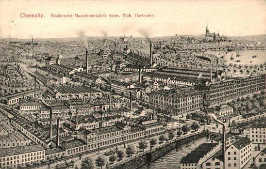Spinnereimaschinenbau Chemnitz, ehemals Sächsische Maschinenfabrik vorm. Richard Hartmann