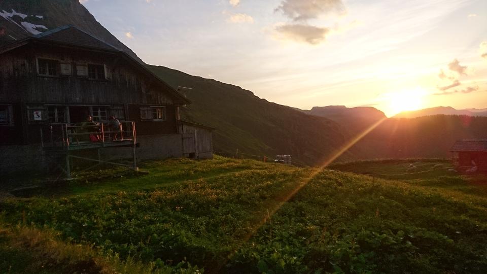 Herrliche Abendstimmung im Oberberg (06.07.2019)