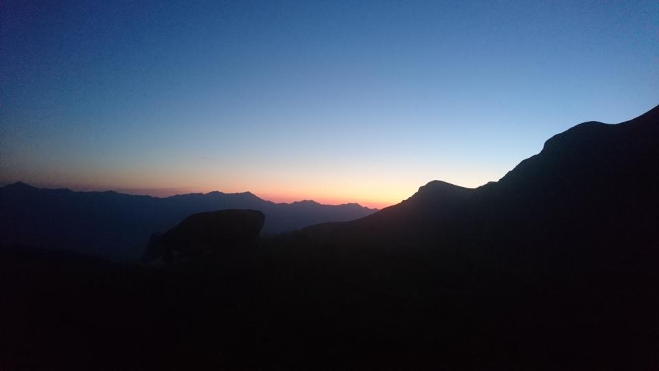 Das frühe Aufstehen hat sich gelohnt. Schon nur wegen dieser Morgendämmerung 😍 (23.07.2019)